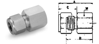Female Connector  specification